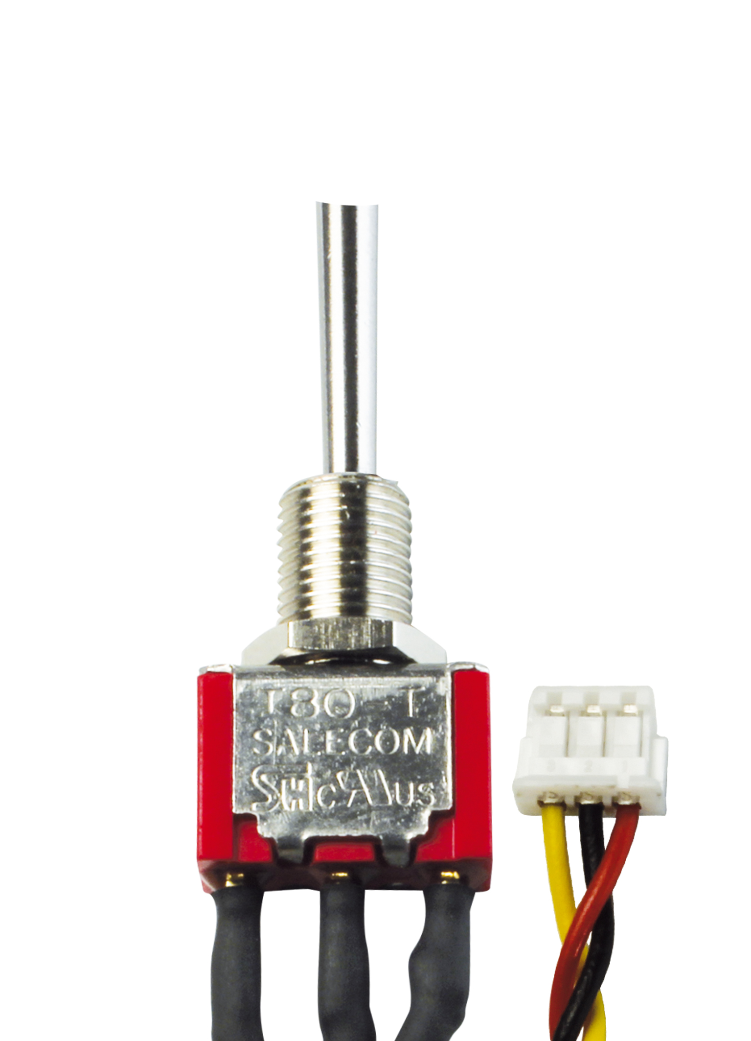 3-Stufen-Schalter EIN/AUS/EIN kurz (Micro)