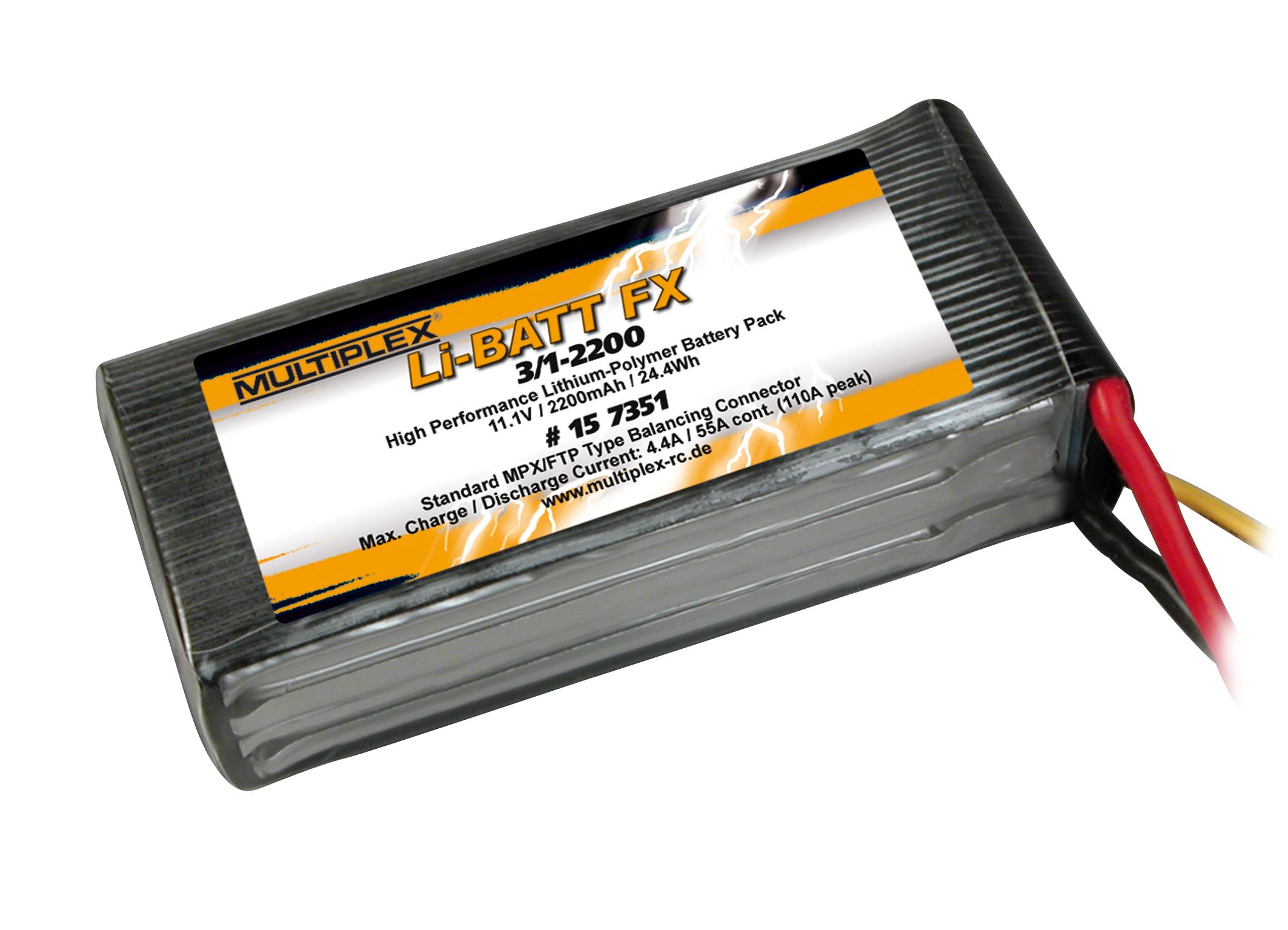 Akku Li-Batt FX 3/1-2200 (M6)