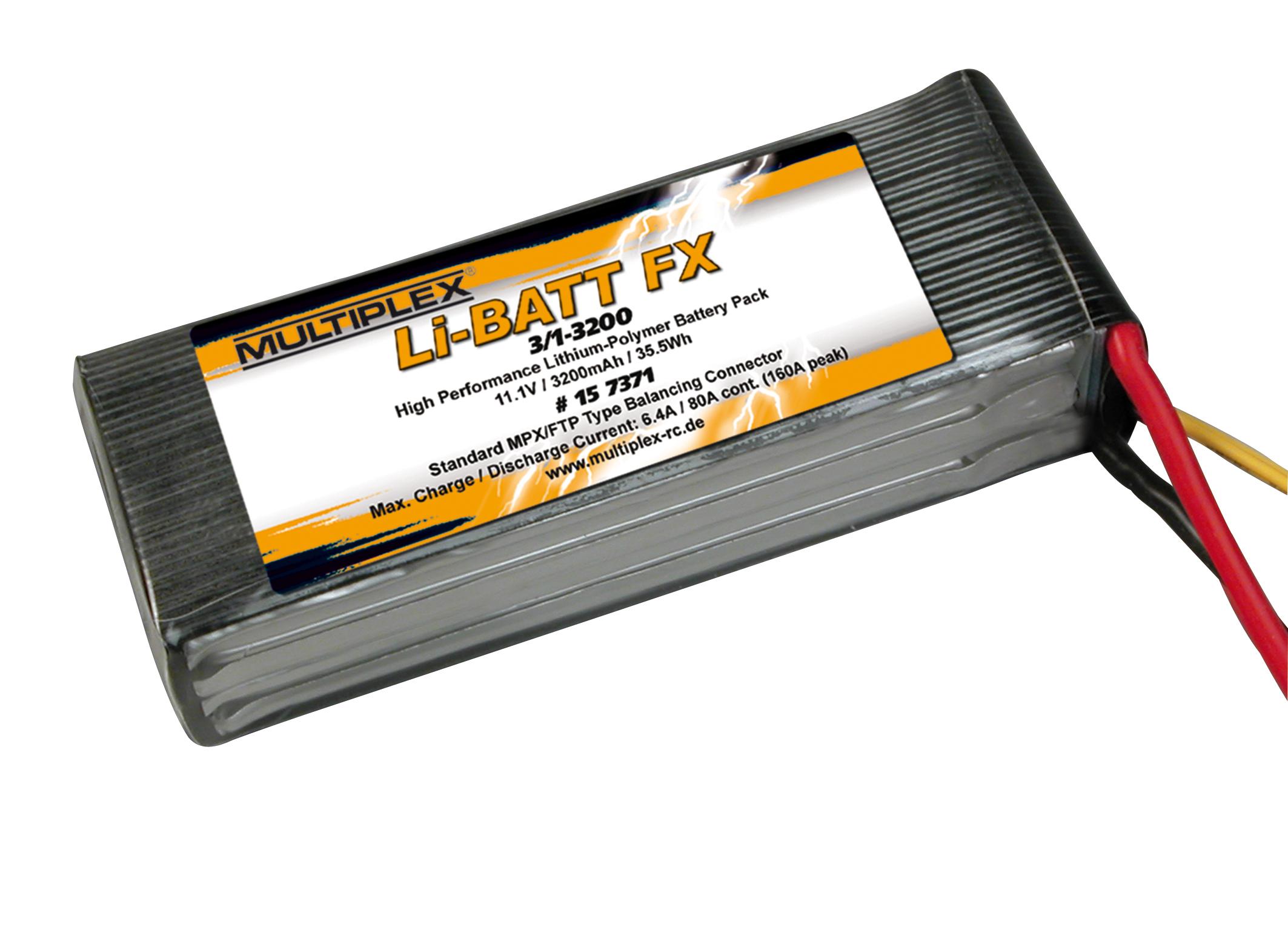 Akku Li-Batt FX 3/1-3200 (M6)